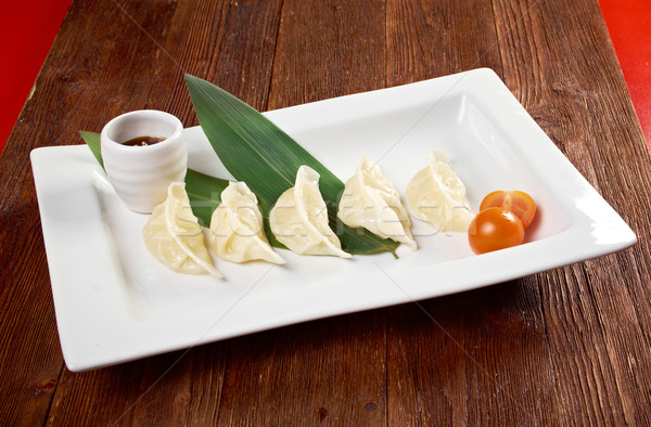 Chinese dumplings Jiaozi  Stock photo © fanfo