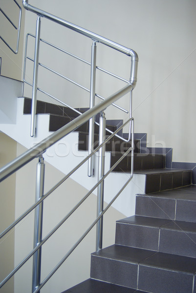 enclosure with metallic stair railing  Stock photo © fanfo