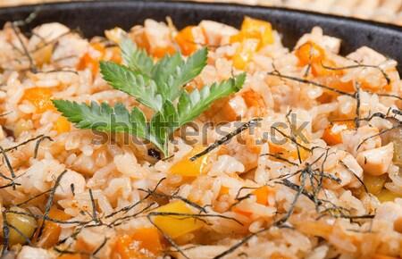 中国食品 中国語 食品 はちみつ 野菜 ストックフォト © fanfo