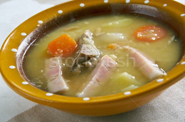 Dutch Pea Soup Stock photo © fanfo