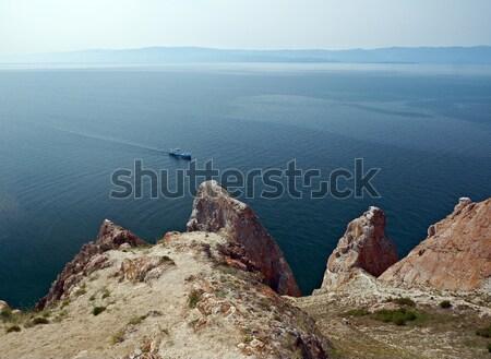 Wal eiland meer siberië Rusland water Stockfoto © fanfo