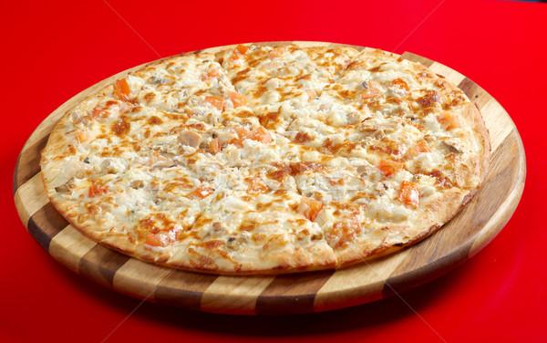 ストックフォト: ピザ · 魚 · イタリア語 · キッチン · スタジオ · 卵