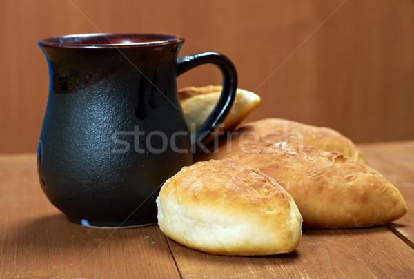 russia traditions pierog.Home cake  Stock photo © fanfo