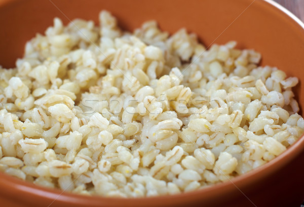 Bouilli perle orge alimentaire pays structure Photo stock © fanfo