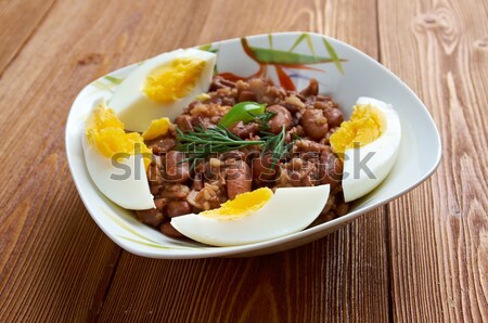 Ful medames - Egyptian,Sudanese dish  Stock photo © fanfo