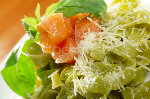 Pasta tagliatelle Stock photo © fanfo