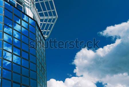 Office building in  build Hi-tech Stock photo © fanfo