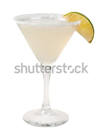 lime cocktail  closeup  Stock photo © fanfo