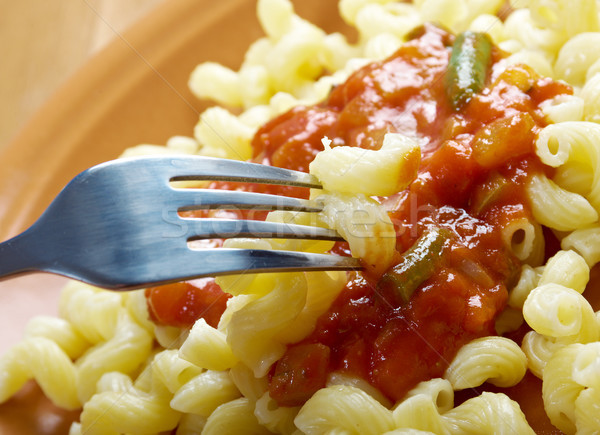 Italian pasta cavatappi  Stock photo © fanfo