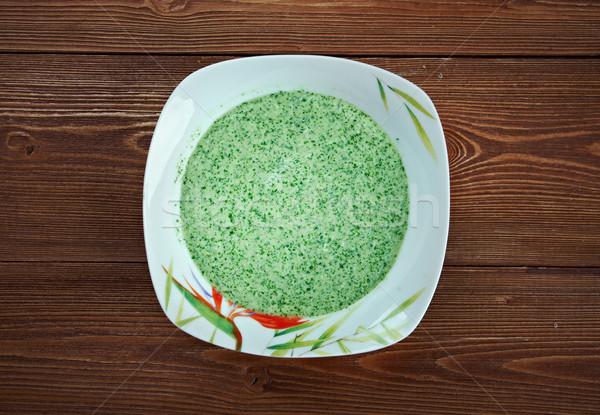 Peruvian Aji Verde Sauce Stock photo © fanfo