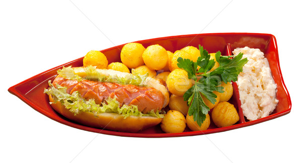Hot Dog Stock photo © fanfo