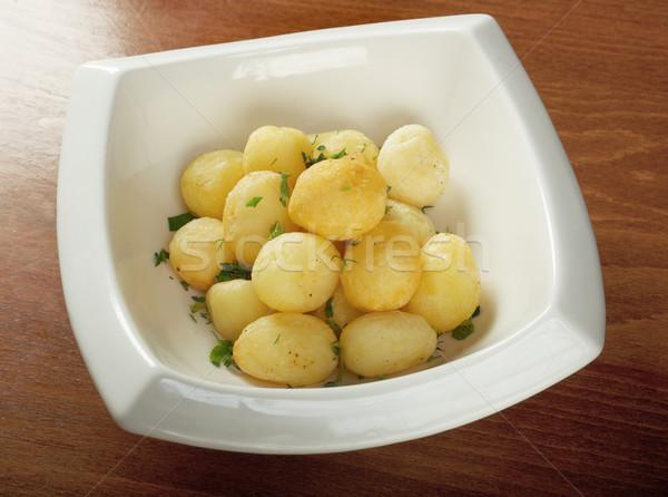 Roast potatoes Stock photo © fanfo