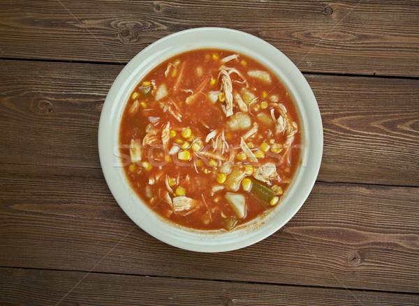 Spezzatino tradizionale piatto popolare americano meridionale Foto d'archivio © fanfo