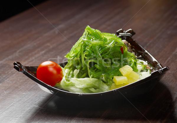 Sałatka wodorost warzyw żywności naczyń Zdjęcia stock © fanfo