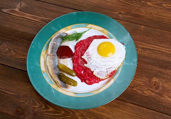 Culinario especialidad Alemania particular ciudades Foto stock © fanfo