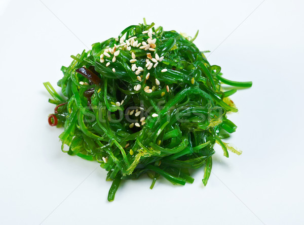 Salad with Seaweed Stock photo © fanfo