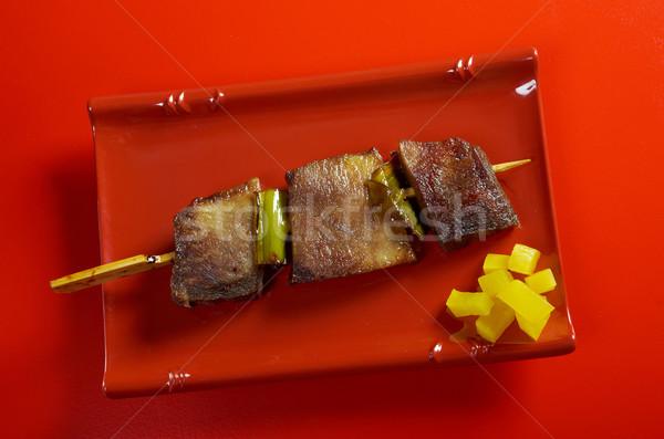 Japanese skewered.J Stock photo © fanfo