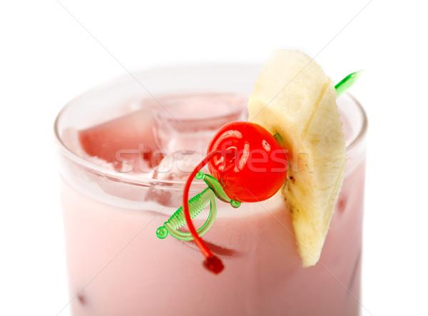 berry  cocktail  closeup Stock photo © fanfo