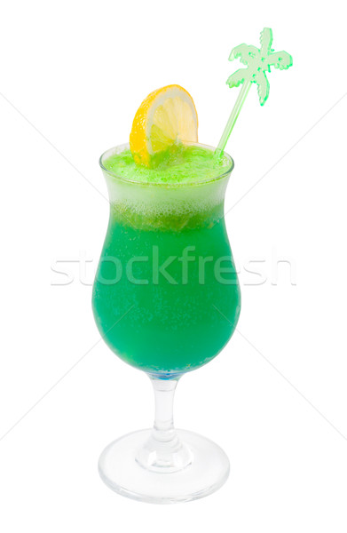Green Alcoholic Cocktails Stock photo © fanfo