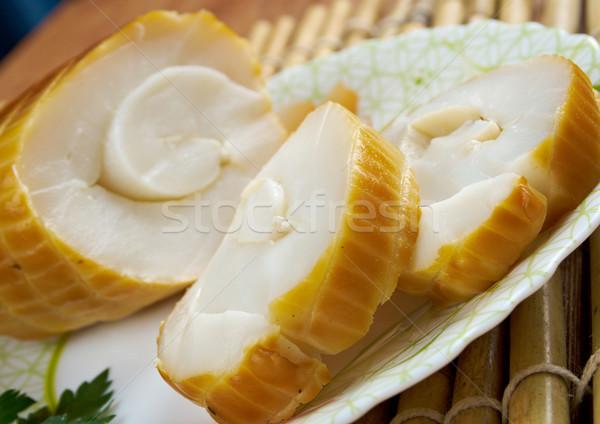 smoked squid Stock photo © fanfo