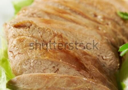 Stock fotó: Pörkölt · kacsa · kínai · stílus · sekély · étel