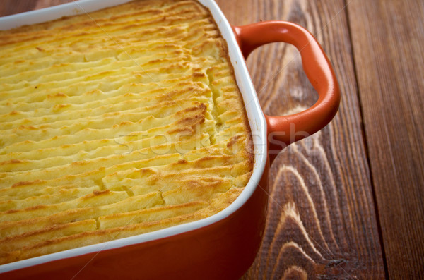 Shepherd's pie Stock photo © fanfo