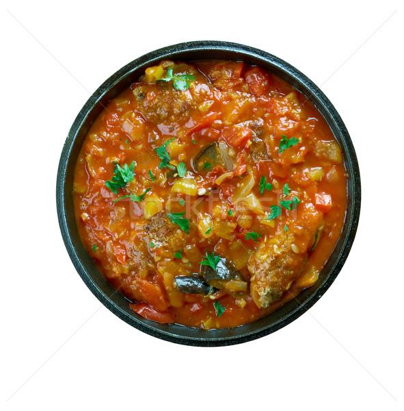 トルコ語 野菜 ミートボール 季節の トマト インド ストックフォト © fanfo