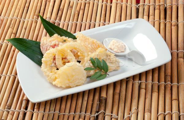 Stock fotó: Japán · sült · Seattle · étel · főzés · ebéd