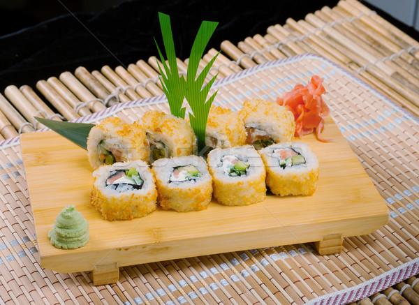 Stok fotoğraf: Japon · sushi · geleneksel · japon · gıda · balık · restoran