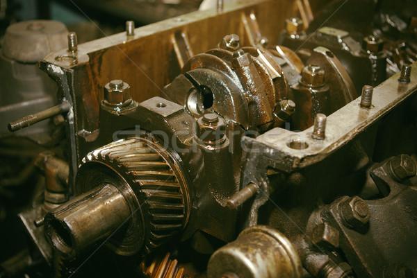 automobile mechanism Stock photo © fanfo