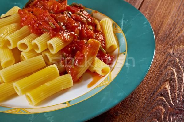 Pasta Rigaton Stock photo © fanfo