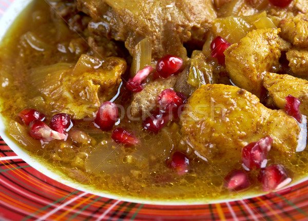 Fesenjan Persian Chicken Stew  Stock photo © fanfo