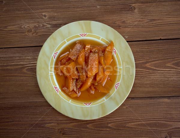 Calabaza con azucar moreno Stock photo © fanfo