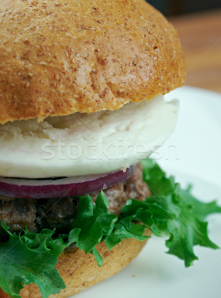Ultimate Greek Burgers Stock photo © fanfo