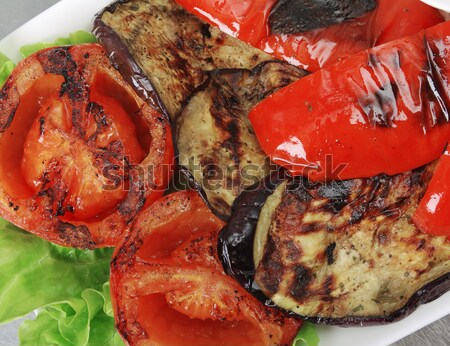 Stir Fried Vegetables roasted  Stock photo © fanfo