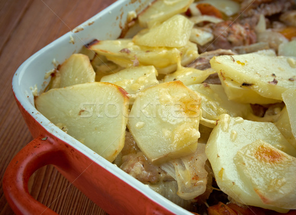 Lancashire hotpot Stock photo © fanfo