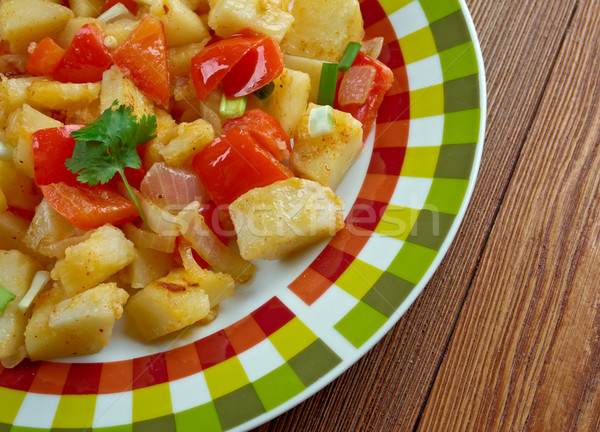 Potatoes O'Brien Stock photo © fanfo