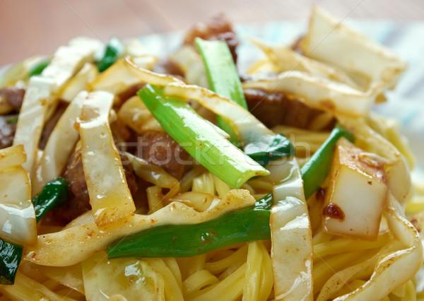 Shanghai Noodles Stock photo © fanfo