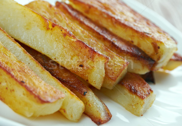 Triple Cooked Chips Stock photo © fanfo