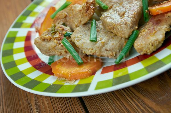 Sichuan Orange Beef Stock photo © fanfo