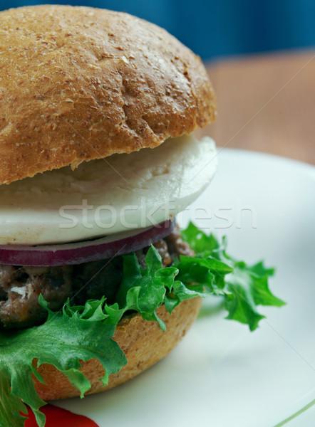 Ultimate Greek Burgers Stock photo © fanfo