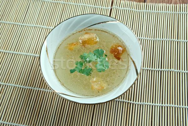 Marhahús leves stock edény egészséges közelkép Stock fotó © fanfo