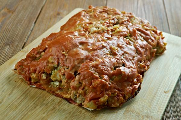 Turkey, Potato , Zucchini Meatloaf  Stock photo © fanfo
