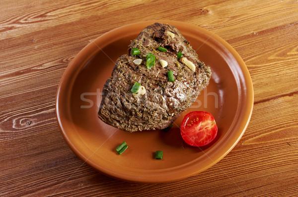 roast beef farm-style Stock photo © fanfo