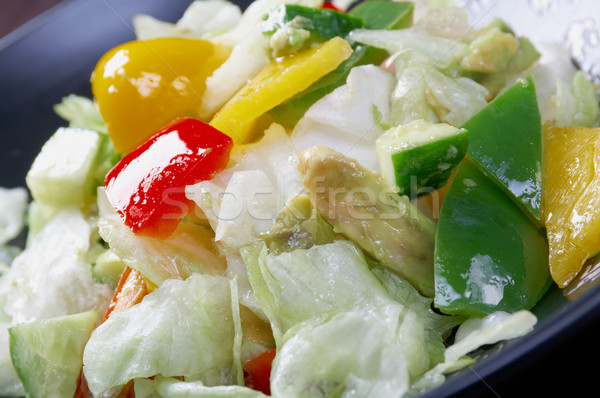 Japan salad vegetable Stock photo © fanfo