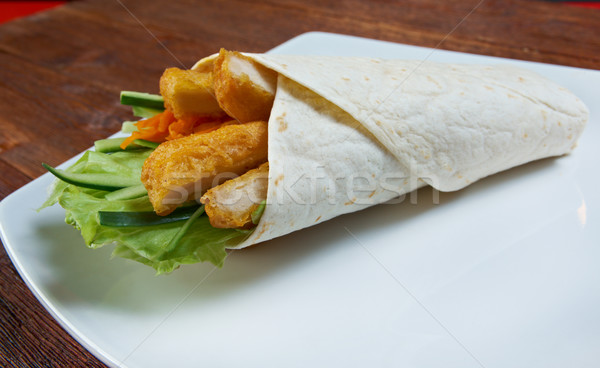 Foto stock: Desayuno · pollo · cena · carne · tomate · comida