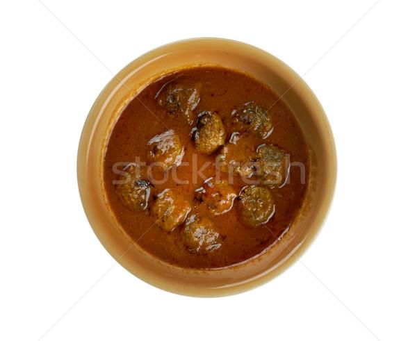 moong dal kofta curry Stock photo © fanfo