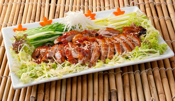 Stock photo: Roasted duck, Chinese style