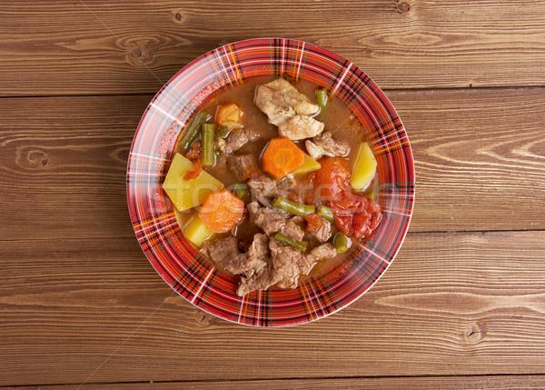 Booyah stew  Wisconsin Stock photo © fanfo
