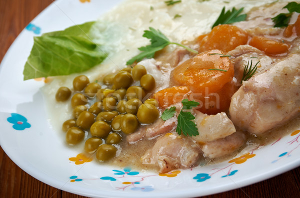 calf's fricassee Stock photo © fanfo